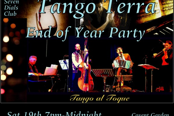 END OF YEAR PARTY AT TANGO TERRA COVENT GARDEN