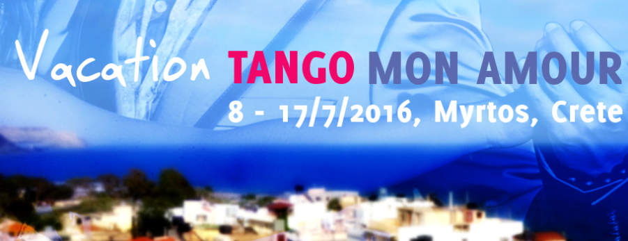 Argentine Tango Holiday: Vacation Tango Mon Amour on Crete