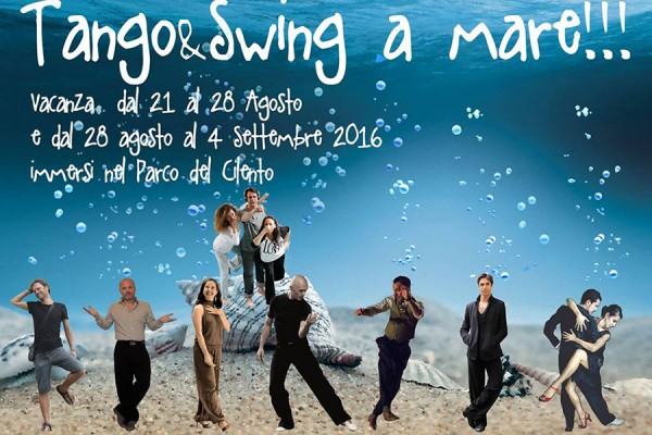 Tango & Swing at the sea in south Italy