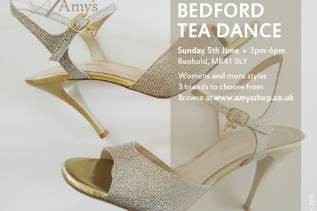 Tango Story: Shoes at Bedford Tea Dance