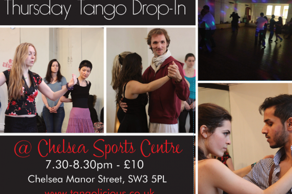 The Only Way Is Tango…Join our Thursday Drop-In Class at Chelsea Sports Centre!