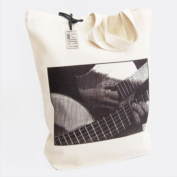Canvas Tote Bag Guitarhands
