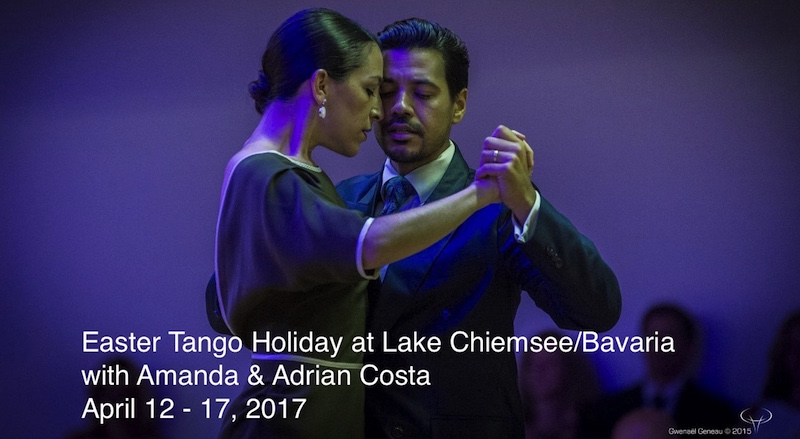 Tango Workshops at Lake Chiemsee/Bavaria with Amanda & Adrian Costa
