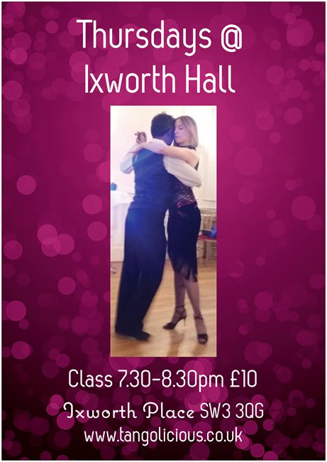 Argentine Tango Drop-In Class at Ixworth Hall, Chelsea