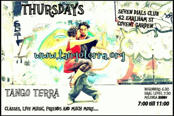 Tango Terra Thursday Nights with Live Music in London