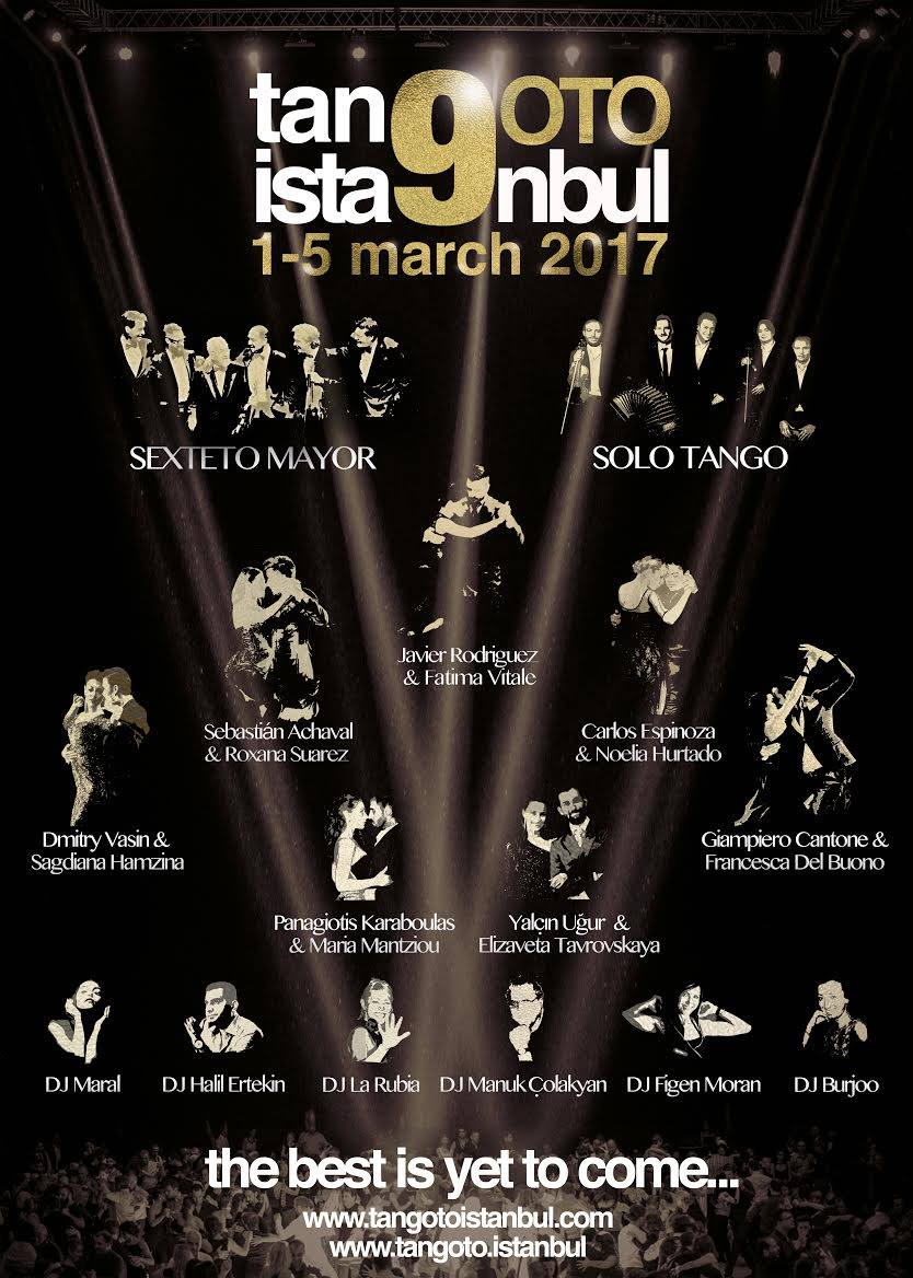 9. tanGO TO istanbul (1-5 March 2017)