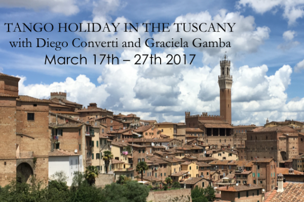 Tango Festival and Tango Holiday in the Tuscany