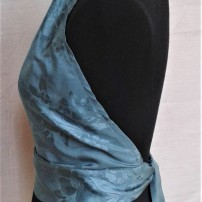 Pure Silk Backless Top