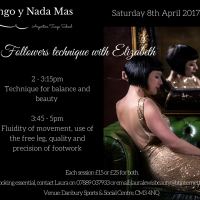 Tango Class Event: Followers Technique with Elizabeth from Tango y Nada Mas