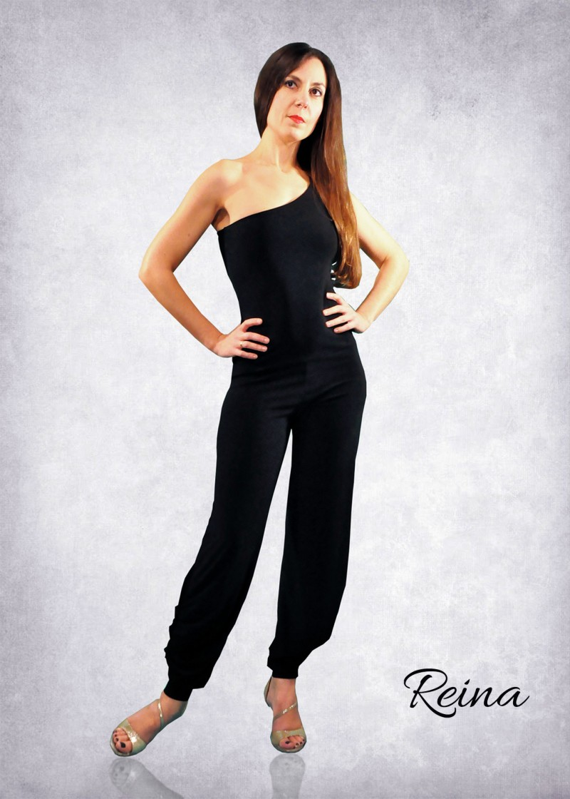 Tango jumpsuit one shoulder many colors