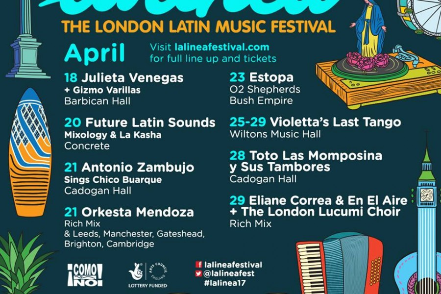 La Linea! The London Latin Music Festival 2017