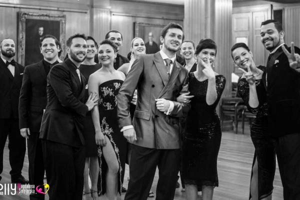 Backstage beyond the swing doors at the UK Tango Festival 2017