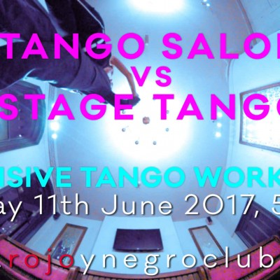 Tango Salon vs. Stage Tango Intensive Workshop