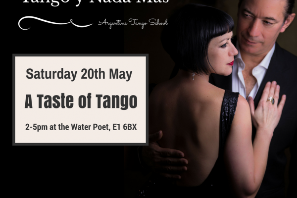 Argentine Tango classes every Monday in London