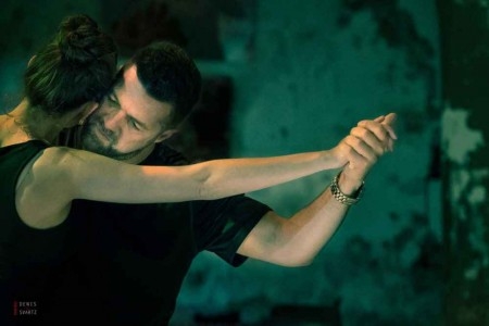 Tango Story: Natalia Cristobal Rivé & Diego Reimer by Featured Tango Photographer Denis Svartz