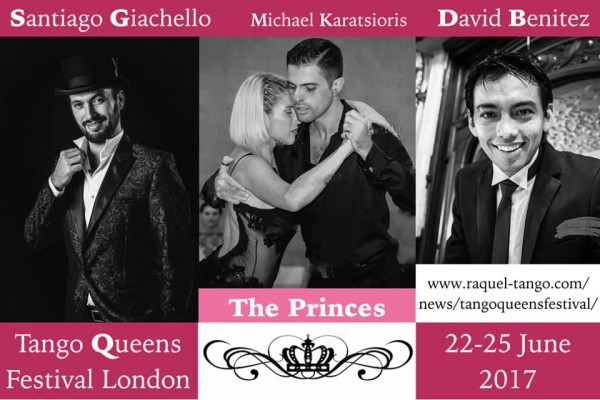 Workshop for leaders during Tango Queens Festival