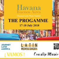 Tango Story: The PROGRAMME for Havana Buenos Aires Classical Latin Music Festival 2018