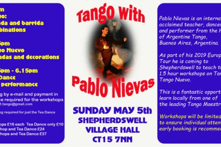 Tango Workshop Event: Tango with Pablo