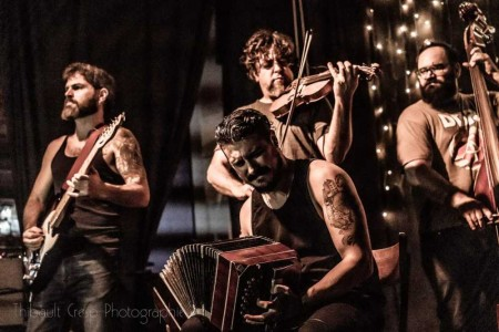 Tango Story: El Cachivache Live at Cafe Vinilo by Featured Tango Photographer Thibault Cresp