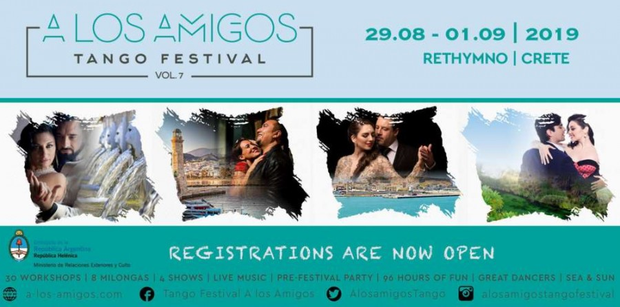 Tango Story: Interested in something special? A los Amigos vol. 7 is perfect for you.