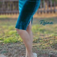 Dancewear For Sale: Pencil velvet skirt