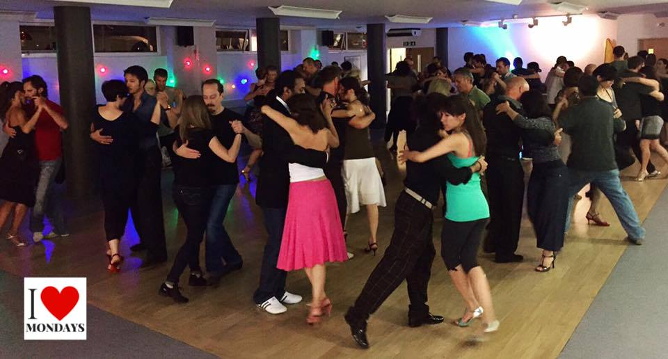 Argentine Tango Class, Milonga, Practica: I ❤️ Mondays in Euston