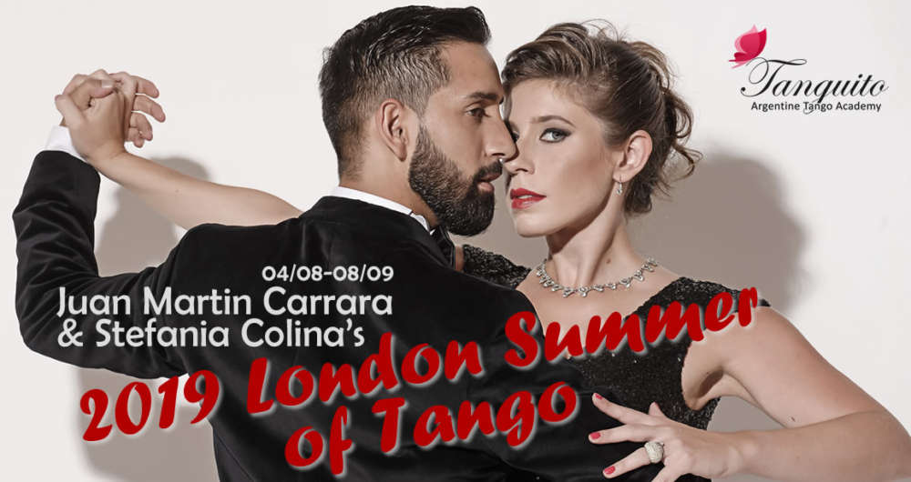 Juan Martin Carrara & Stefania Colina London intensives: 04/08 - 08/09