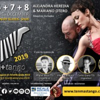 Tango Class, Encuentro, Festival, Workshop Event: Ten+Tango 2019, International Tango Meeting of Tenerife Island Since 2013.