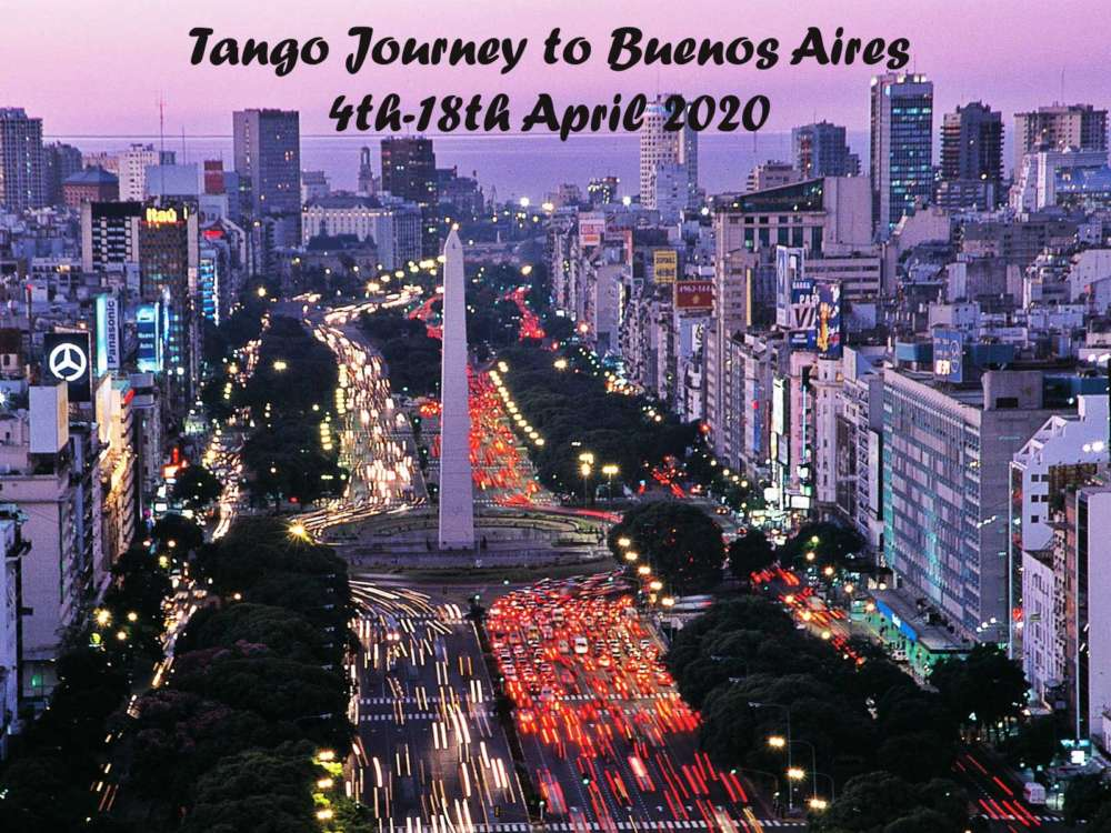 Promoting Tango Journey to Buenos Aires