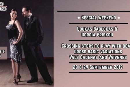 Tango Workshop Event: Crossing steps to play with beats