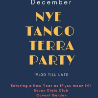 Tango Milonga Event: New Years Eve Covent Garden London