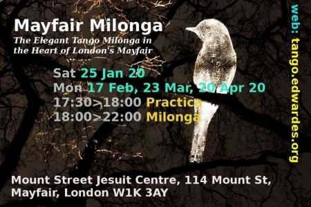 Tango Milonga Event: Mayfair Milonga