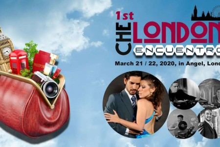 Tango Encuentro Event: 1st CHE LONDON Encuentro with hosts Juan Martin & Stefania