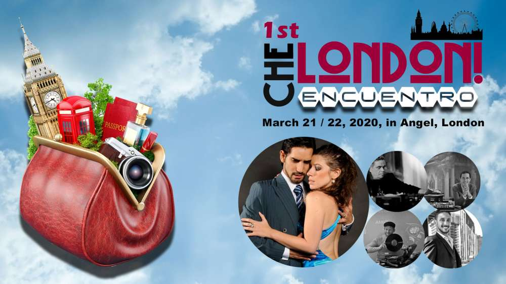Argentine Tango Encuentro: 1st CHE LONDON Encuentro with hosts Juan Martin & Stefania