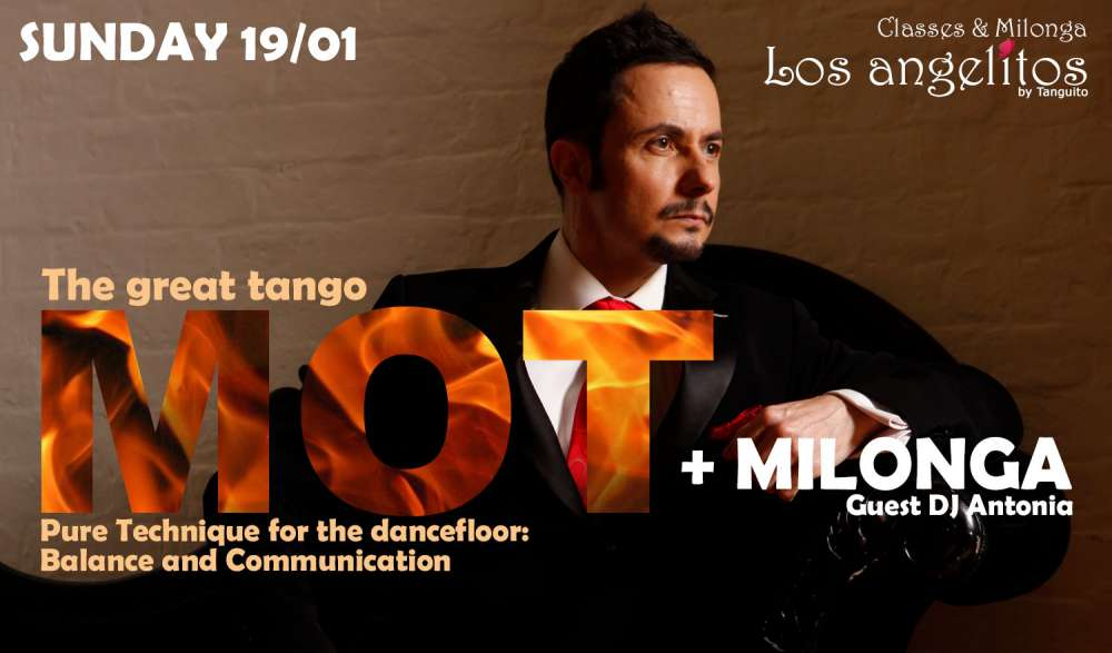 The Great Tango MOT Special Workshop & Milonga