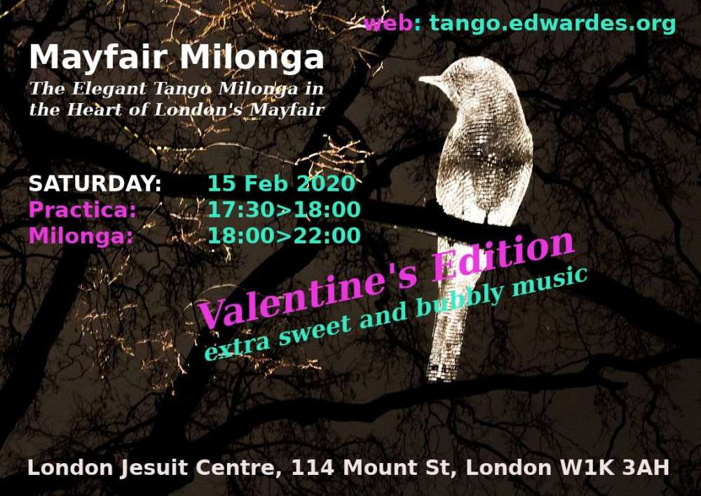 Mayfair Milonga 15Feb20