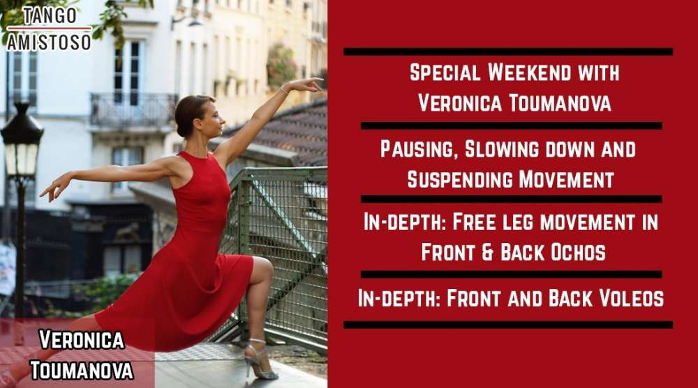 Argentine Tango Workshop: FREE LEG MOVEMENT IN FRONT AND BACK OCHOS