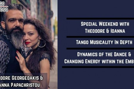 Tango Milonga, Weekender, Workshop Event: Changing the dynamic of our dance – various possibilities of exchanging energy within the embrace
