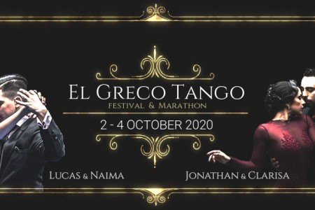 El Greco Tango Festival & Marathon in Heraklion, Crete, Greece 02-04 October 2020