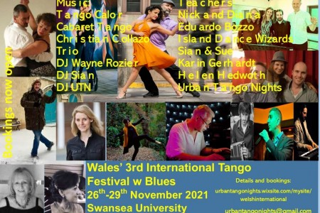 Tango Event: Wales' 3rd International Tango Festival