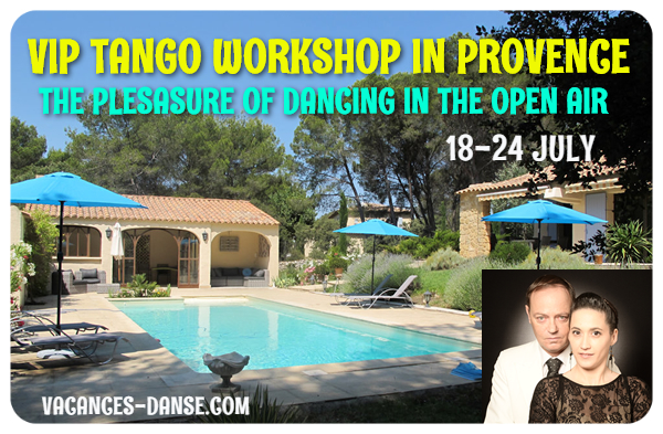 Argentine Tango Weekender: Tango ip Workshop in Provence