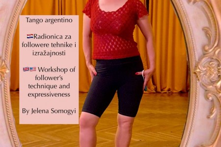 Tango Class, Workshop Event: For followers technique,expressiveness in hall and online