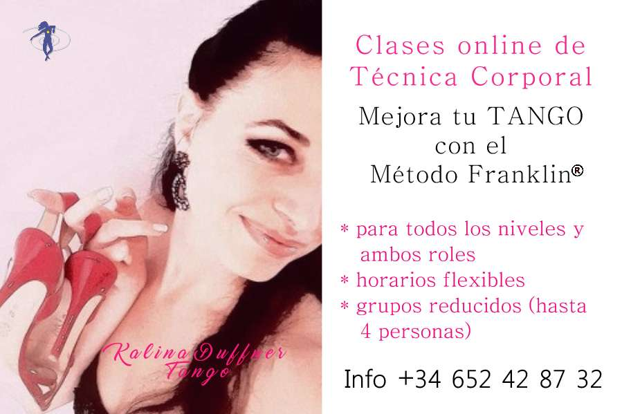 Argentine Tango Class: Improve your technique with the Franklin Method: group classes, privates and online.
