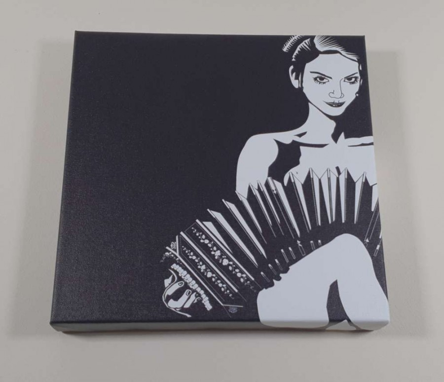 Tango Story: Artwork now available on canvas