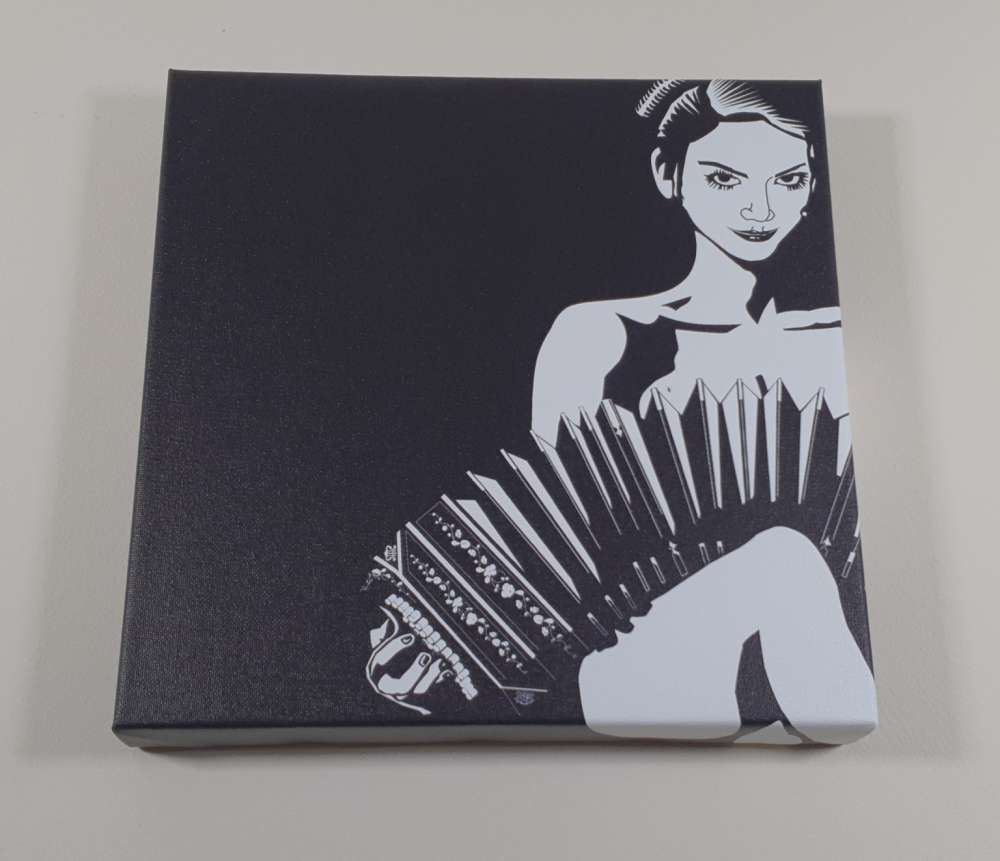 Artwork now available on canvas